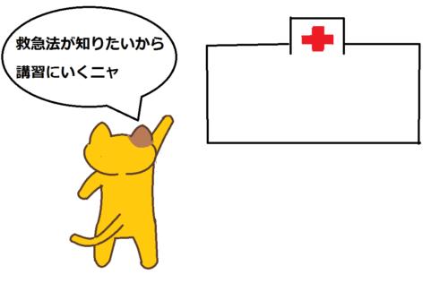 赤十字で救急法の講習を受けられる