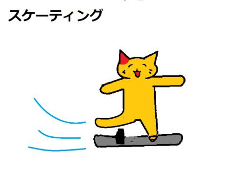 スケーティング