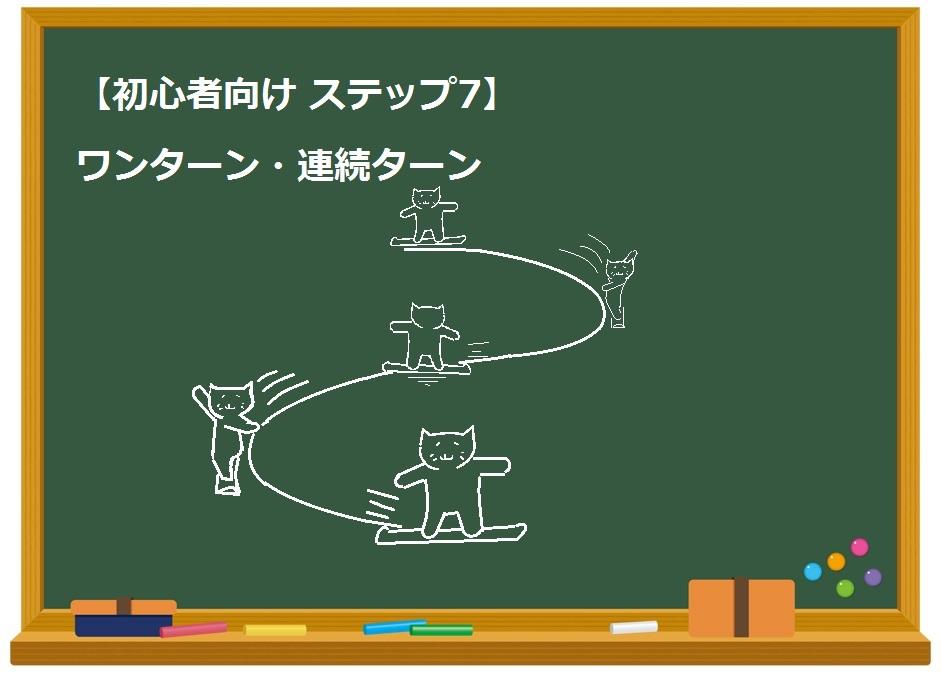 【初心者向け ステップ7】ワンターン・連続ターン