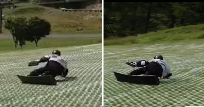 【レポート4】真夏日の丸沼サマゲレは滑らない?アングル次第で滑りも変わる?