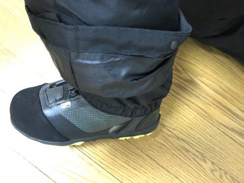 ブーツゲーター2