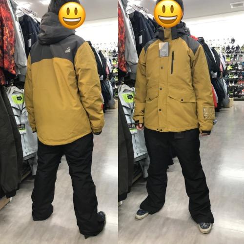 イージス スノー防水防寒ジャケット・パンツ キャメル