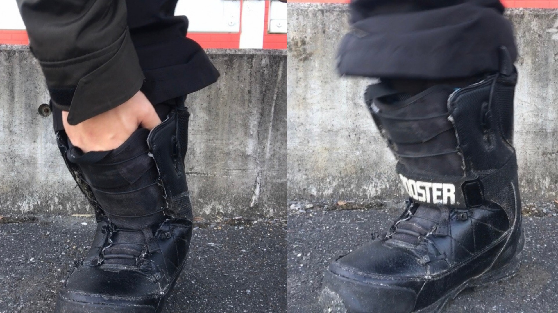 【ルーズフィット編】動けてバランスが取りやすいスノーボードブーツの履き方
